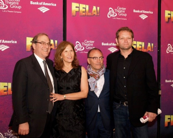 Stephen Hendel, Ruth Hendel and Edward Tyler Nahem Photo
