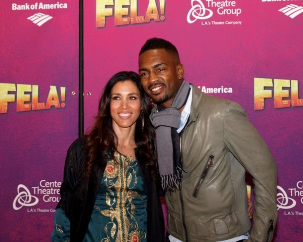 Kristen Baker and Bill Bellamy