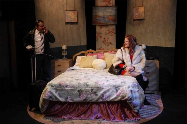 Photo Flash: 1st Look at Kissing Sid James at Brits Off Broadway