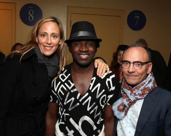 Kim Raver, Ismael Kouyate and producer Edward Tyloer Nahem