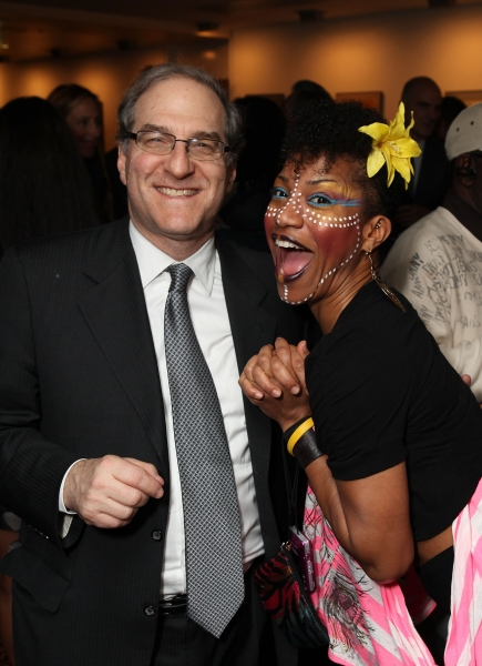 Stephen Hendel and cast member Oneika Phillips