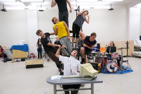 Photo Flash: AMERICAN IDIOT Tour In Rehearsal, Van Hughes, Gabrielle McClinton & More!