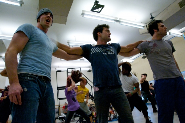 Photo Flash: AMERICAN IDIOT Tour In Rehearsal, Van Hughes, Gabrielle McClinton & More!
