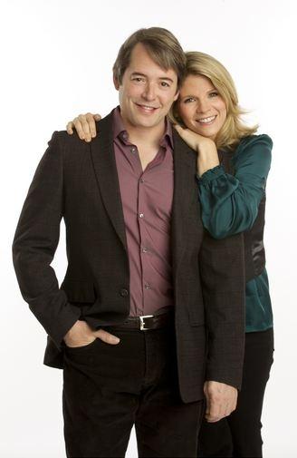 Photo Flash: First Look at NICE WORK Stars Matthew Broderick & Kelli O'Hara