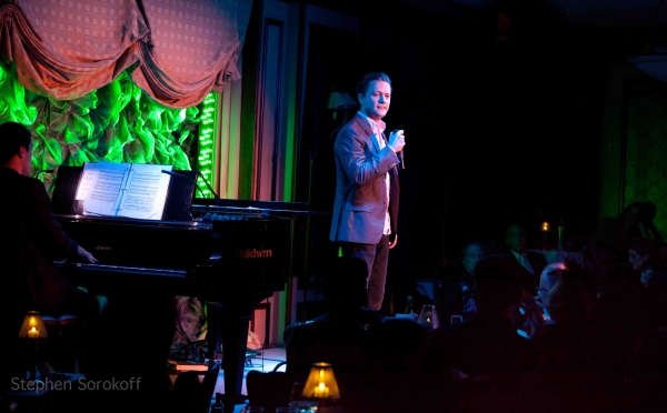 Jon Fletcher at Larry Gatlin, Claybourne Elder et al. Play BROADWAY HOOTENANNY at Feinstein's at Loews Regency