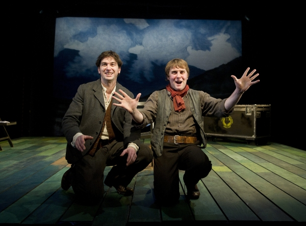 Owen McDonnell & Jamie Beamish at STONES IN HIS POCKETS At Tricycle Theatre