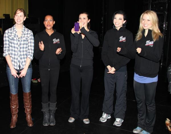 Hilary Michael Thompson, Kearran Giovanni (Gypsy Robe Recipient), Lara Seibert, Anne Otto, Robin Campbell