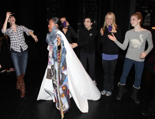 Kearran Giovanni (Gypsy Robe Recipient) with Hilary Michael Thompson, Anne Otto, Robin Campbell & Emily Tyra