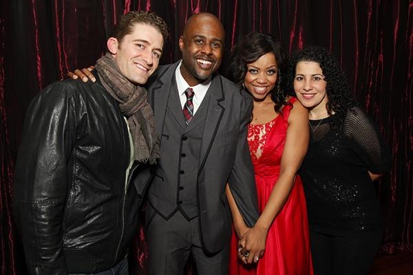 Matthew Morrison, Terron Brooks, Kamilah Marshall, & Coterie Executive Producer Julie Photo
