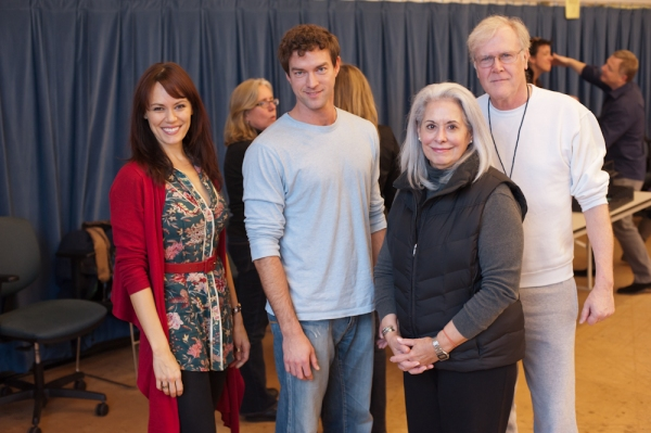 Emily Swallow (Margaret), Peter Christian Hansen (Brick), Melissa Hart (Big Mama) and David Anthony Brinkley (Big Daddy)