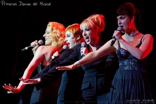 Melania Lenoir, Alejandra Radano, Sandra Guida and Natalia Cociuffo