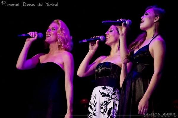 Melania Lenoir, Laura Conforte and Florencia Otero