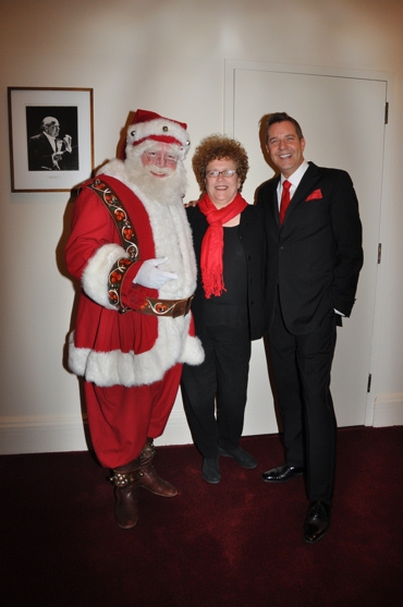3 at John Pizzarelli and Jessica Molaskey Wish You A Swingin' Christmas With The New York Pops