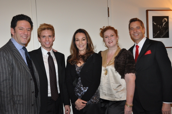 John Pizzarelli, Hunter Ryan Herdlicka, Jessica Molaskey, Julie James and Steven Reineke