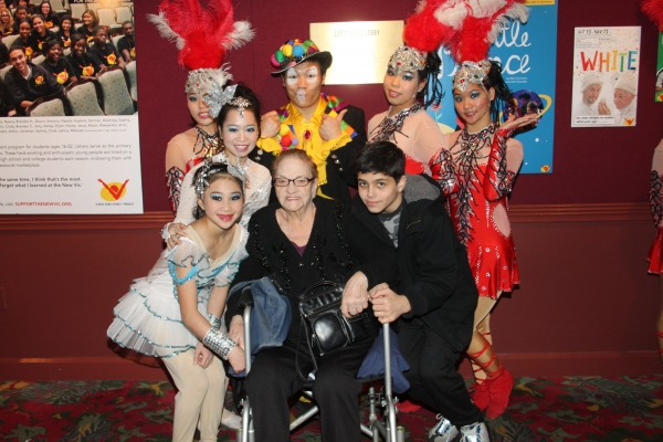 Cirque Shanghai Bai Xi cast member with Jo Jo Lenzi and Nicholas Croce