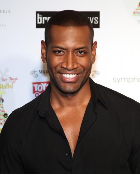 Bryan Terrell Clark  at Janet Dacal, Nick Adams, The Broadway Boys & More Lead BROADWAY SINGS FOR TOYS Benefit
