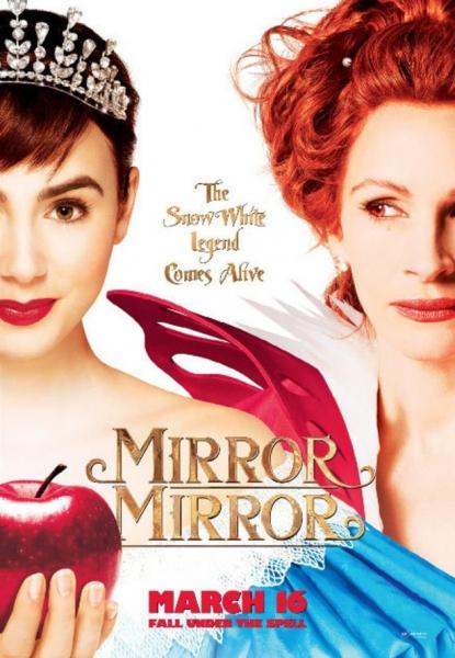 Poster Art for MIRROR MIRROR at Poster Art for Julia Robert's MIRROR MIRROR