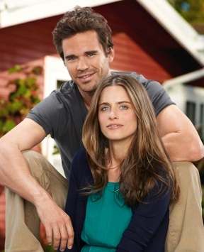David Walton & Amanda Peet at First Look - Amanda Peet, Jeffrey Tambor in NBC's BENT