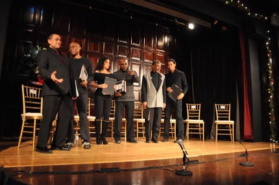 Ariel Estrada, Daryl Lathon, Daphne Rubin-Vega, Ty Jones, Andre De Shields and Phillip Christian