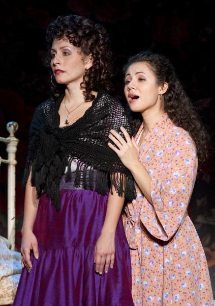 Michelle Aravena (Anita) and Evy Ortiz (Maria)
