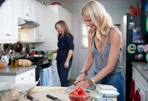 Gwyneth Paltrow & Krista Smith