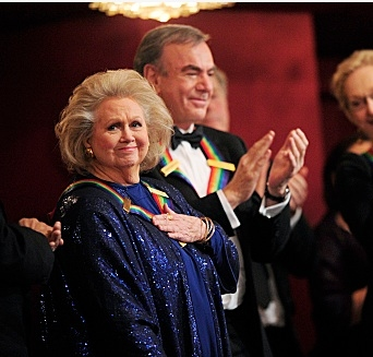 Barbara Cook & Neil Diamond at Barbara Cook, Meryl Streep, Neil Diamond Among Honorees at 34th ANNUAL KENNEDY CENTER HONORS