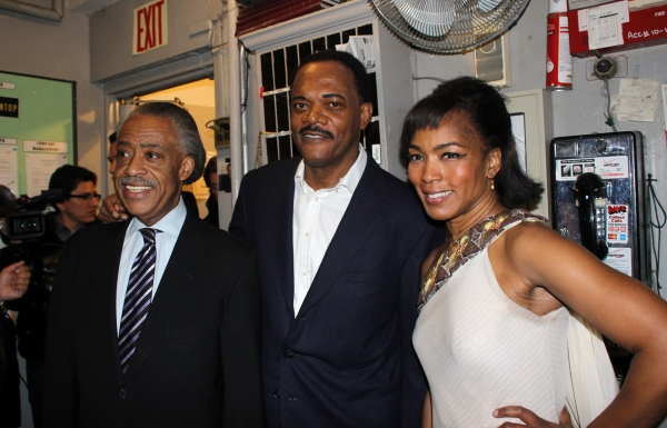 Photo Coverage: Happy Birthday Samuel L. Jackson! Rev. Al Sharpton & THE MOUNTAINTOP Celebrates