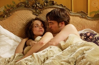 Christina Ricci & Robert Pattinson at First Look - Production Photos from Robert Pattinson's BEL AMI