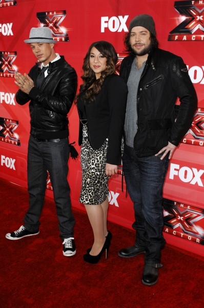 Chris Rene, Melanie Amaro and Josh Krajcik