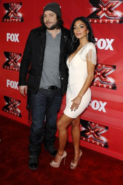 Josh Krajcik and Nicole Scherzinger at X FACTOR Judges Attend Press Conference