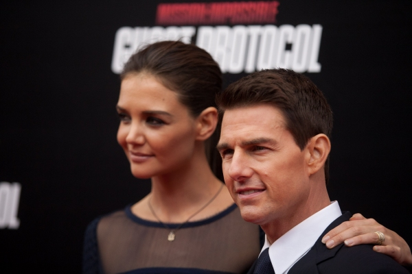 3 at MISSION: IMPOSSIBLE- GHOST PROTOCOL Premieres in NYC