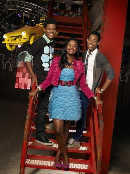 Trevor Jackson, Coco Jones & Tyler James Williams