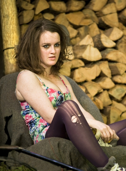 Sophie McShera at Jerusalem At The Apollo Theatre