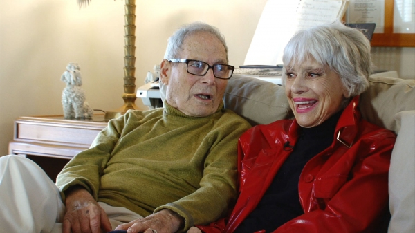 Carol Channing and Harry Kulijian at Carol Channing: Larger than Life opens in New York and LA