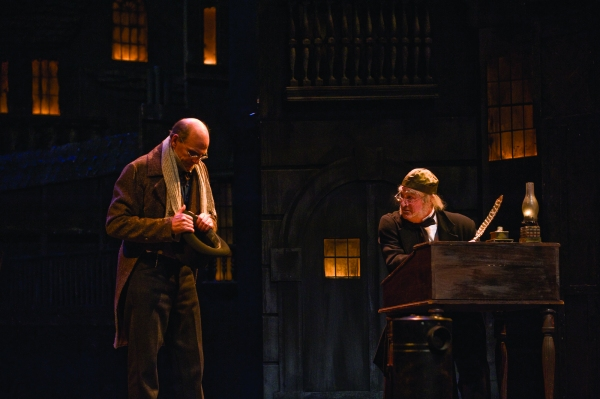 James Taylor, Eric Hill at First Look at James Taylor in Berkshire Thetare Group's A CHRISTMAS CAROL