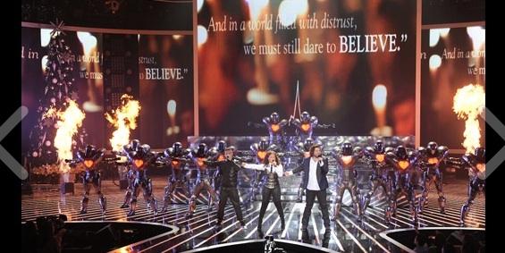 Josh Krajcik & Alanis Morissette at THE X FACTOR's Finale Performances