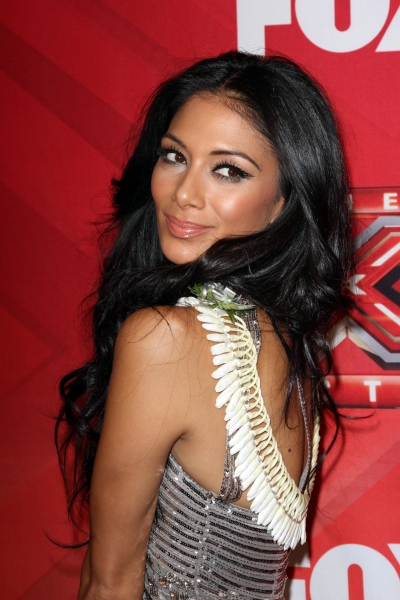 Nicole Scherzinger at Melanie Amaro Crowned Winner of THE X FACTOR!