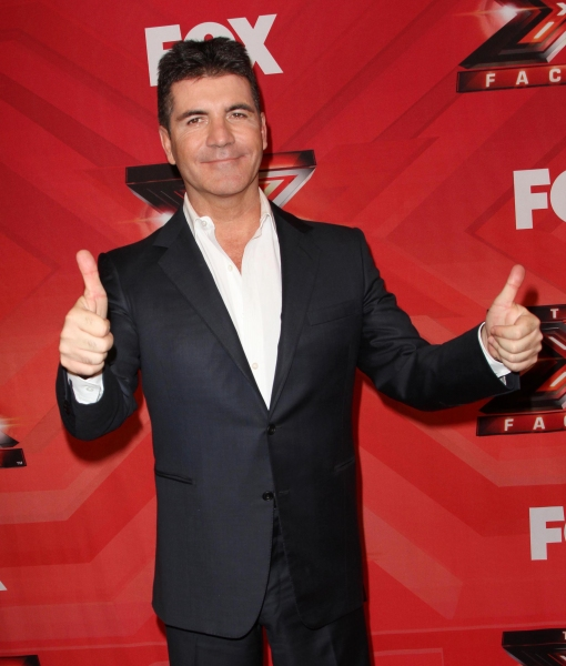 Simon Cowell at Melanie Amaro Crowned Winner of THE X FACTOR!