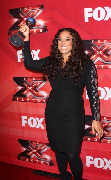 Photo Flash: Melanie Amaro Crowned Winner of THE X FACTOR!