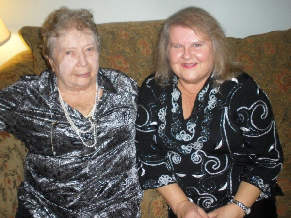 Ethel Watt & Debbie Tuma
