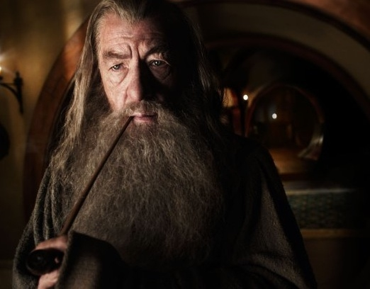 Ian McKellen at New Production Photos from THE HOBBIT
