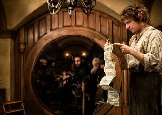 Martin Freeman at New Production Photos from THE HOBBIT