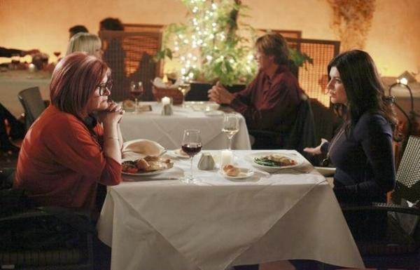 Faith Prince & Casey Wilson at Sneak Peek - Faith Prince Guest Stars on ABC's HAPPY ENDINGS, 1/4