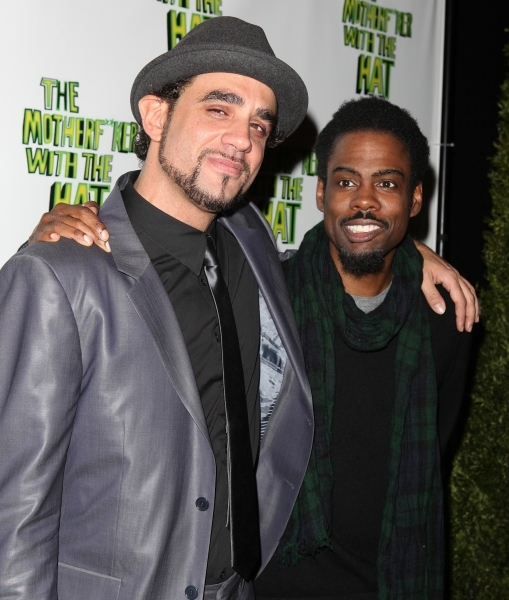 Bobby Cannavale and Chris Rock at BEST OF 2011 Photo Flashback - Opening Night Parties!