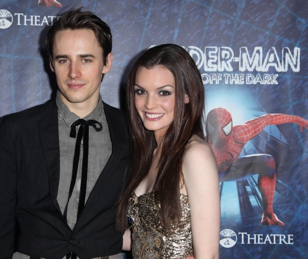 Reeve Carney and Jennifer Damiano at BEST OF 2011 Photo Flashback - Opening Night Parties!