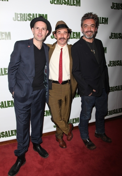 Mark Rylance and the cast of Jerusalem at BEST OF 2011 Photo Flashback - Opening Night Parties!