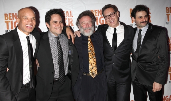 Robin Williams and the cast of Bengal Tiger at the Baghdad Zoo at BEST OF 2011 Photo Flashback - Opening Night Parties!