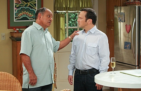 Cheech Marin & Rob Schneider at Sneak Peek - A Second Wedding on CBS's ROB