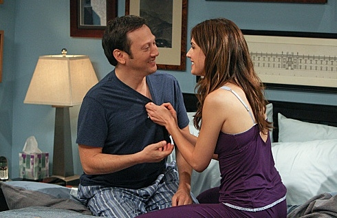 Rob Schneider & Claudia Bassols at Sneak Peek - A Second Wedding on CBS's ROB