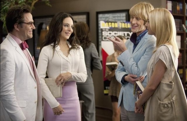 Roger Bart, Madeleine Stowe, Gabriel Mann & Emily Vancamp at First Look - Roger Bart Guest Stars on ABC's REVENGE, 1/11